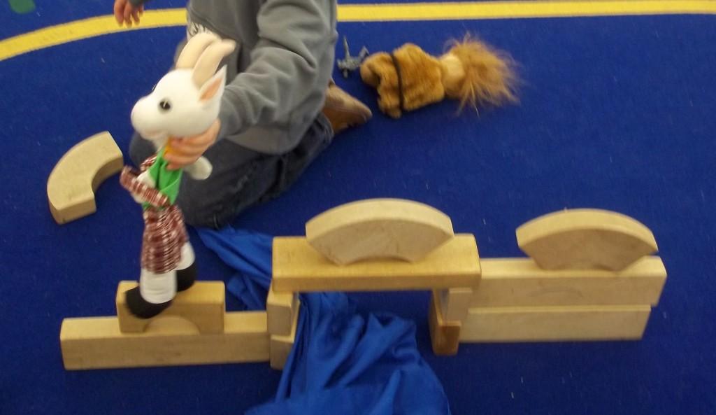 Billy Goats Gruff Puppet Show