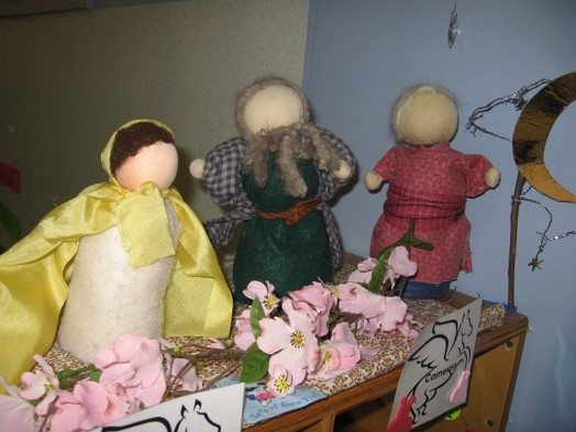 Waldorf-style puppets